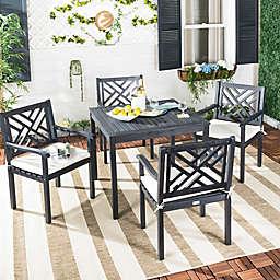 Safavieh Bradbury 5-Piece Outdoor Dining Set with Cushions