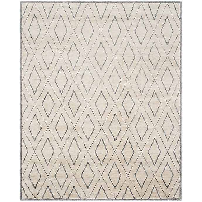Alternate image 1 for Safavieh Kayleigh Hand-Knotted Area Rug in Beige