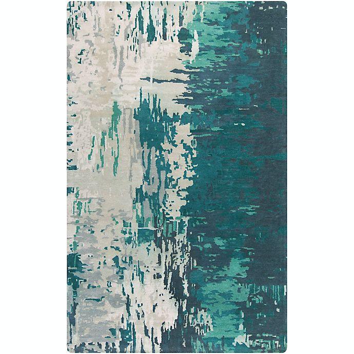 Alternate image 1 for Surya Banshee Modern Hand-Tufted 5' x 8' Area Rug in Blue/Green