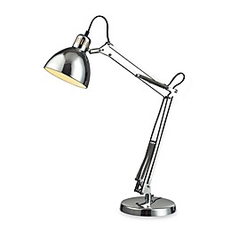 Dimond Lighting Ingelside Chrome Desk Lamp