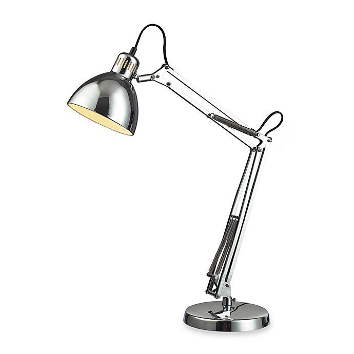 Alternate image 1 for Dimond Lighting Ingelside Chrome Desk Lamp