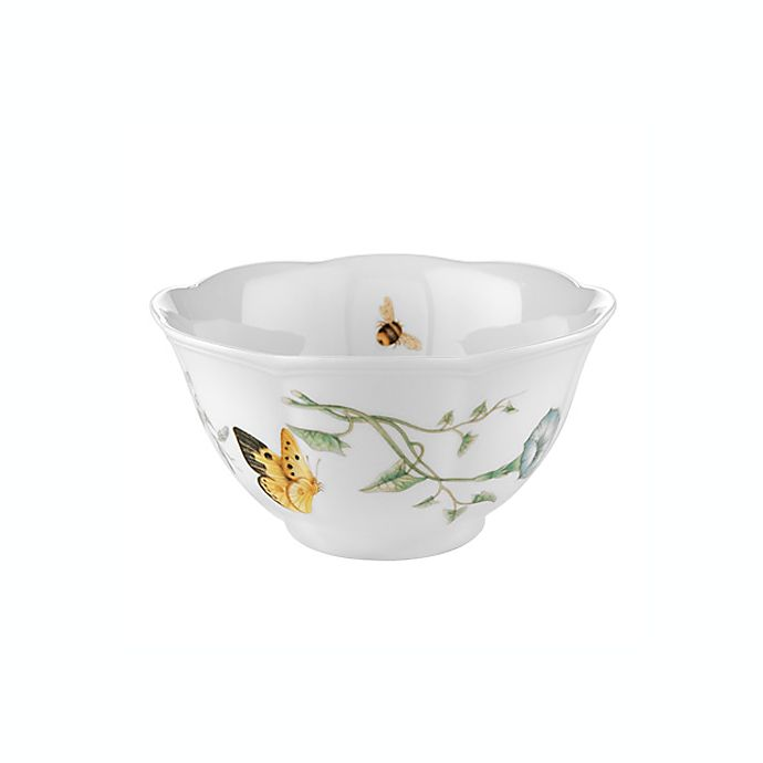Alternate image 1 for Lenox® Butterfly Meadow® 5.5-Inch Rice Bowl