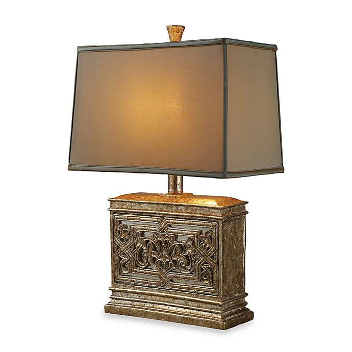 Alternate image 1 for Dimond Lighting Laurel Run Courtney Gold Table Lamp