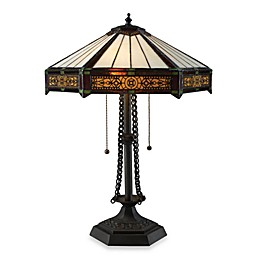 Dimond Lighting Filigree Tiffany Bronze 2-Light Table Lamp
