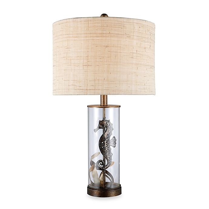 Alternate image 1 for Dimond Lighting Largo Bronze and Clear Glass Table Lamp