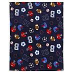 carter's® All-Star Sports Fleece Toddler Blanket in Navy