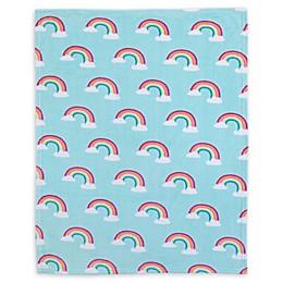 carter's® Rainbow Fleece Toddler Blanket in Sky Blue