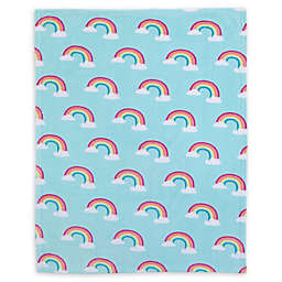 carter's® Rainbow Fleece Toddler Blanket in Sky Blue