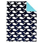 Nautica Kids® Set Sail Plush Baby Blanket