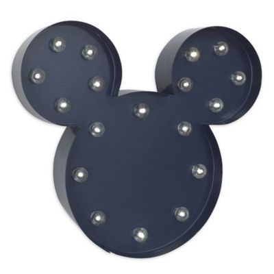 Disney® Mickey Mouse Light-Up Wall Art | buybuy BABY