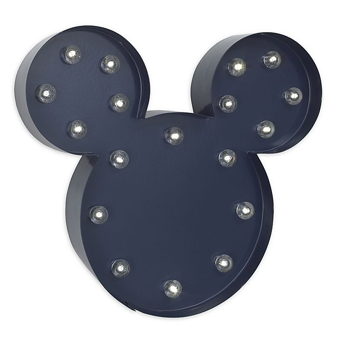 Alternate image 1 for Disney® Mickey Mouse Light-Up Wall Art