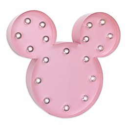 Disney® Minnie Mouse Light-Up Wall Art