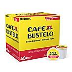 Keurig® K-Cup® Pack 48-Count Café Bustelo® Espresso Style Coffee