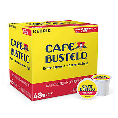 Keurig® K-Cup® Pack 48-Count Café Bustelo® Espresso Style Coffee