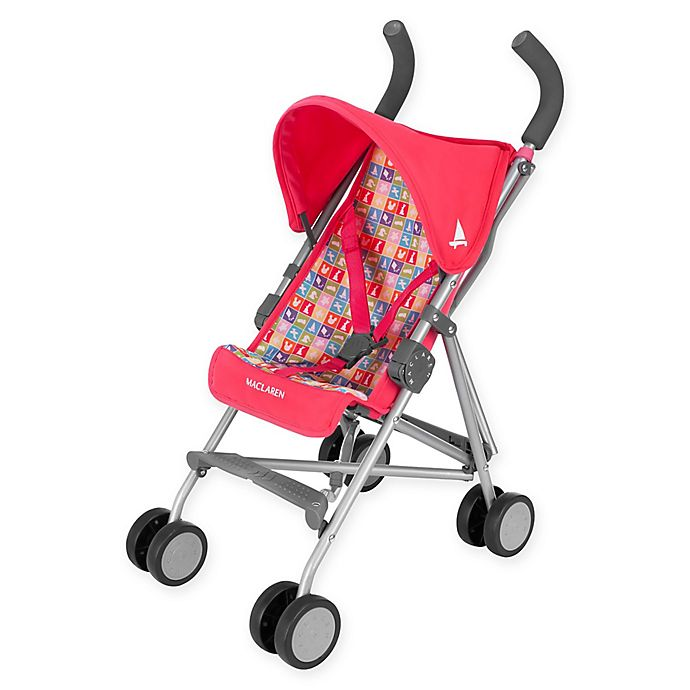 buy maclaren junior quest play buggy in red from bed bath beyond. Black Bedroom Furniture Sets. Home Design Ideas