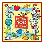 """""""Dr. Seuss' 100 First Words"""" Book"""