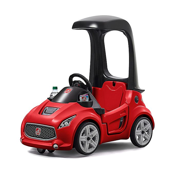 Alternate image 1 for Step2® Turbo Coupe Foot-to-Floor™ Ride-On in Red
