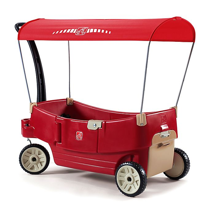 Alternate image 1 for Step2® All Around Canopy Wagon™ in Red