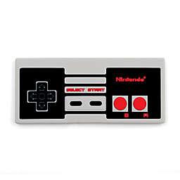 Bumkins® Nintendo Silicone Teether in Grey