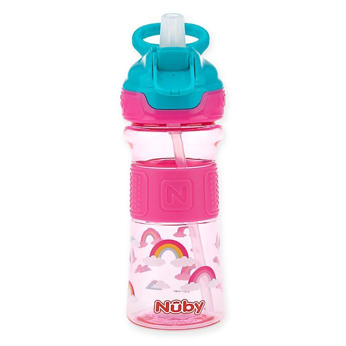 Alternate image 1 for Nuby™ 12 oz. Push-Button Flip-It Toddler Spout Cup
