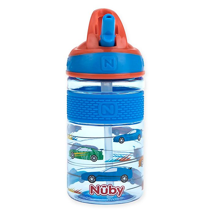 Alternate image 1 for Nuby™ 12 fl. oz. Flip-it Freestyle Hard Straw Sippy Cup