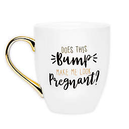 "Pearhead® ""Does this Bump Make Me Look Pregnant"" Mug in White"