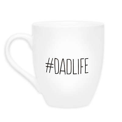 "Pearhead® ""#DadLife"" Mug in White"