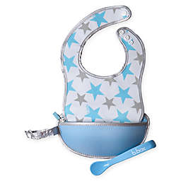 b. box® Shining Star Travel Bib & Spoon Set