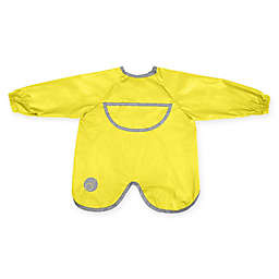 b. box® Smock Bib in Yellow/Grey