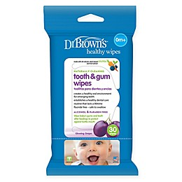 Dr. Brown's® 30-Count Tooth and Gum Wipes