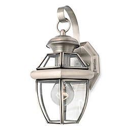 Quoizel®  Newbury Pewter Outdoor Coach Light