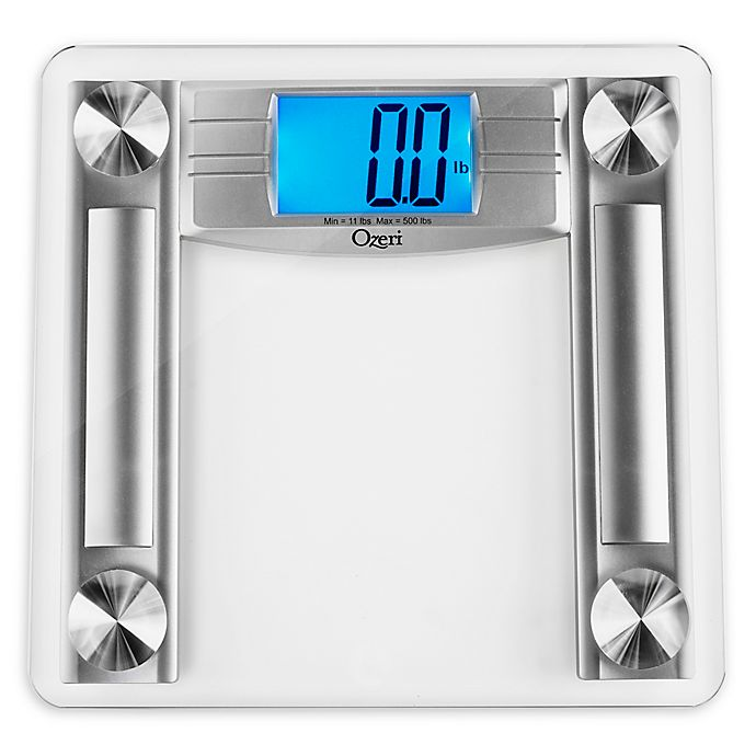 Alternate image 1 for Ozeri® ProMax 500 lb. Digital Bath Scale in Silver