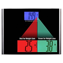 Ozeri® Precision Pro II Digital Bath Scale in Black