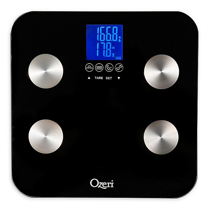 Alternate image 1 for Ozeri® Touch 440 lb. Total Body Bath Scale