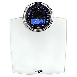 Ozeri® Rev Bathroom Scale with Electro-Mechanical Weight Dial 50 gram Sensor Technology