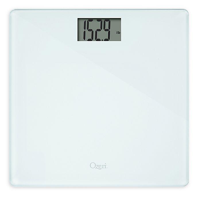Alternate image 1 for Ozeri® Precision 2nd Generation Bath Scale 440 lb. Edition in White