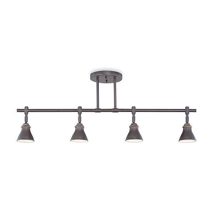 Contemporary 4-Light Ceiling Track Light Fixture in ...