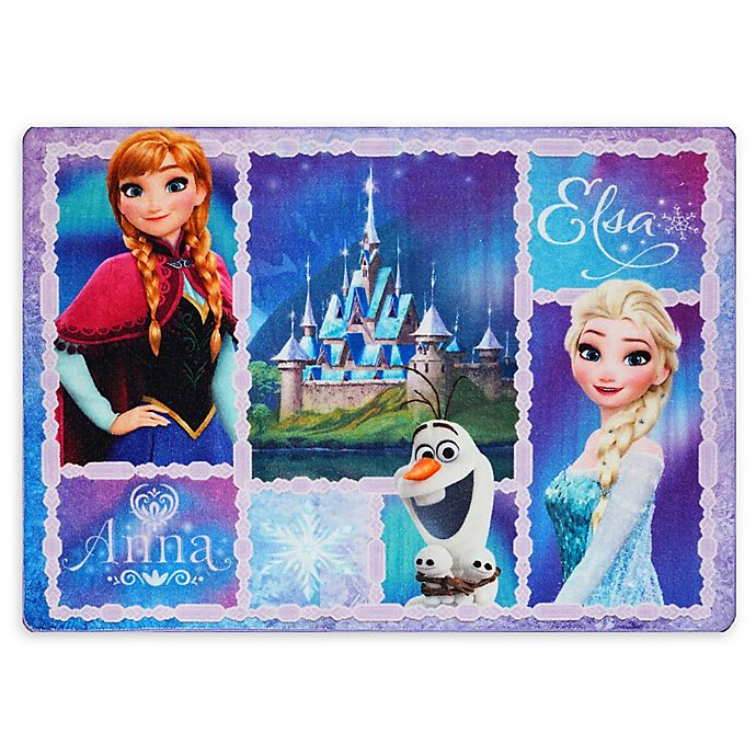 Alternate image 1 for Disney® Frozen Patchwork 4'6 x 6'6 Area Rug