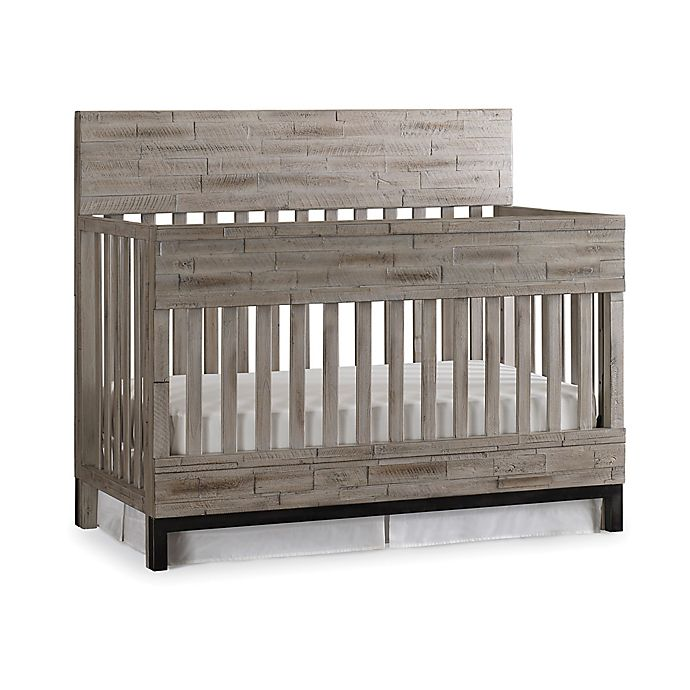 Alternate image 1 for ED Ellen DeGeneres Romero 4-In-1 Convertible Crib in Barnwood Grey