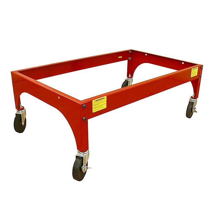 Alternate image 1 for LA Baby® Metal Evacuation Frame in Red