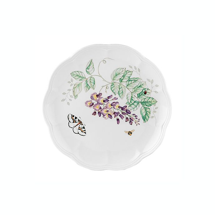 Alternate image 1 for Lenox® Butterfly Meadow® Blue Butterfly 9-Inch Accent Plate