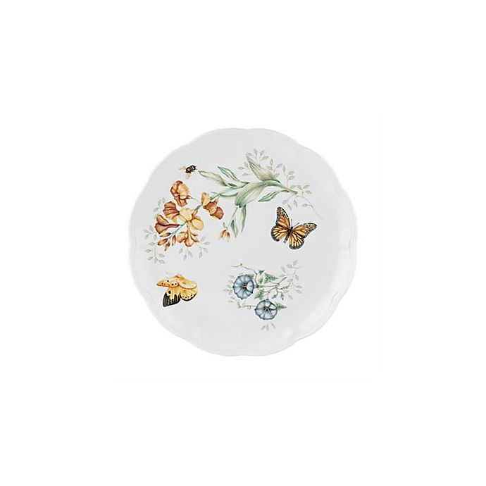 Alternate image 1 for Lenox® Butterfly Meadow® Monarch 10 3/4-Inch Dinner Plate