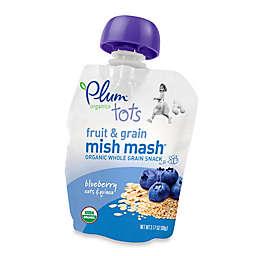 Plum Organics™ Mighty Morning Banana, Blueberry, Oats & Quinoa Fruit & Whole Grain Snack