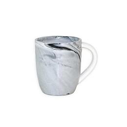 Artisanal Kitchen Supply® Coupe Marbleized Espresso Mugs in Black/White (Set of 4)