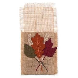 Harvest Leaves Decorative Utensil Holders (Set of 4)