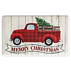 """Holiday Truck Banner 18"""" x 30"""" Kitchen Rug"""