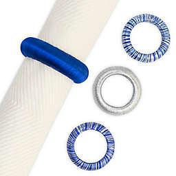 Hanukkah Yarn Wrap Napkin Rings (Set of 12)