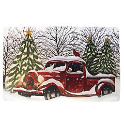 red truck decor bed bath beyond