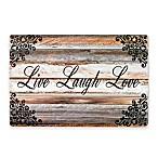 """""""Live Laugh Love"""" Laminate Placemats (Set of 4)"""