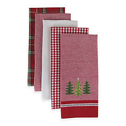 Holiday Trio Kitchen Towels (Set of 5)
